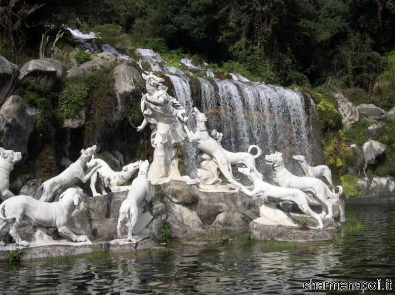 Cascate fontane giardini l 39 altra faccia della reggia di - Il bagno di diana klossowski ...