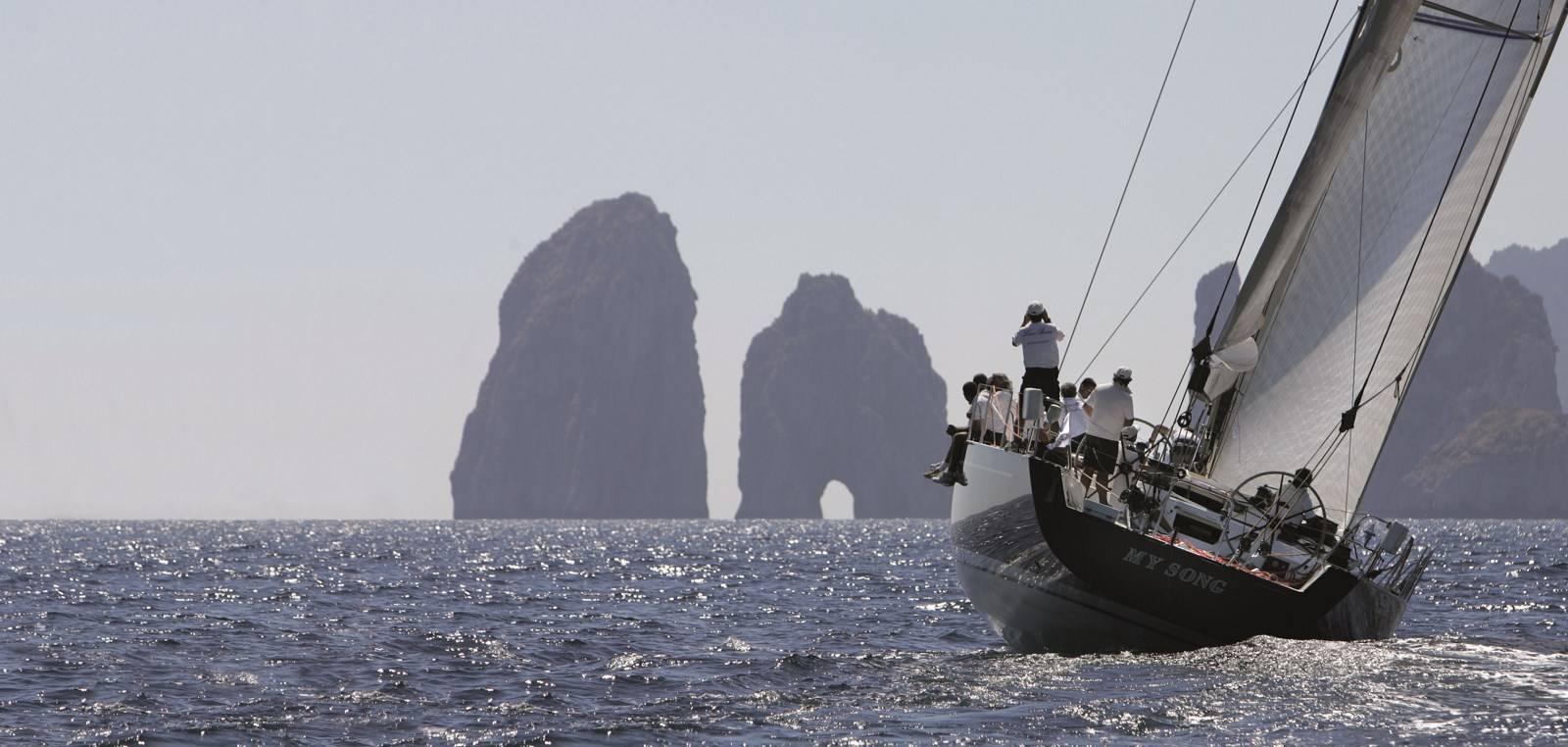 They return to Capri the Regatta of the Week of the Three Gulfs - Charme