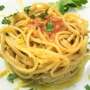 ricetta degli spaghetti ricci di mare