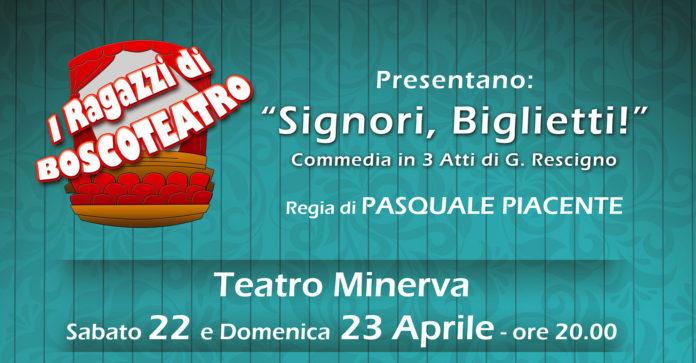 Teatro Minerva con I Ragazzi di Boscoteatro