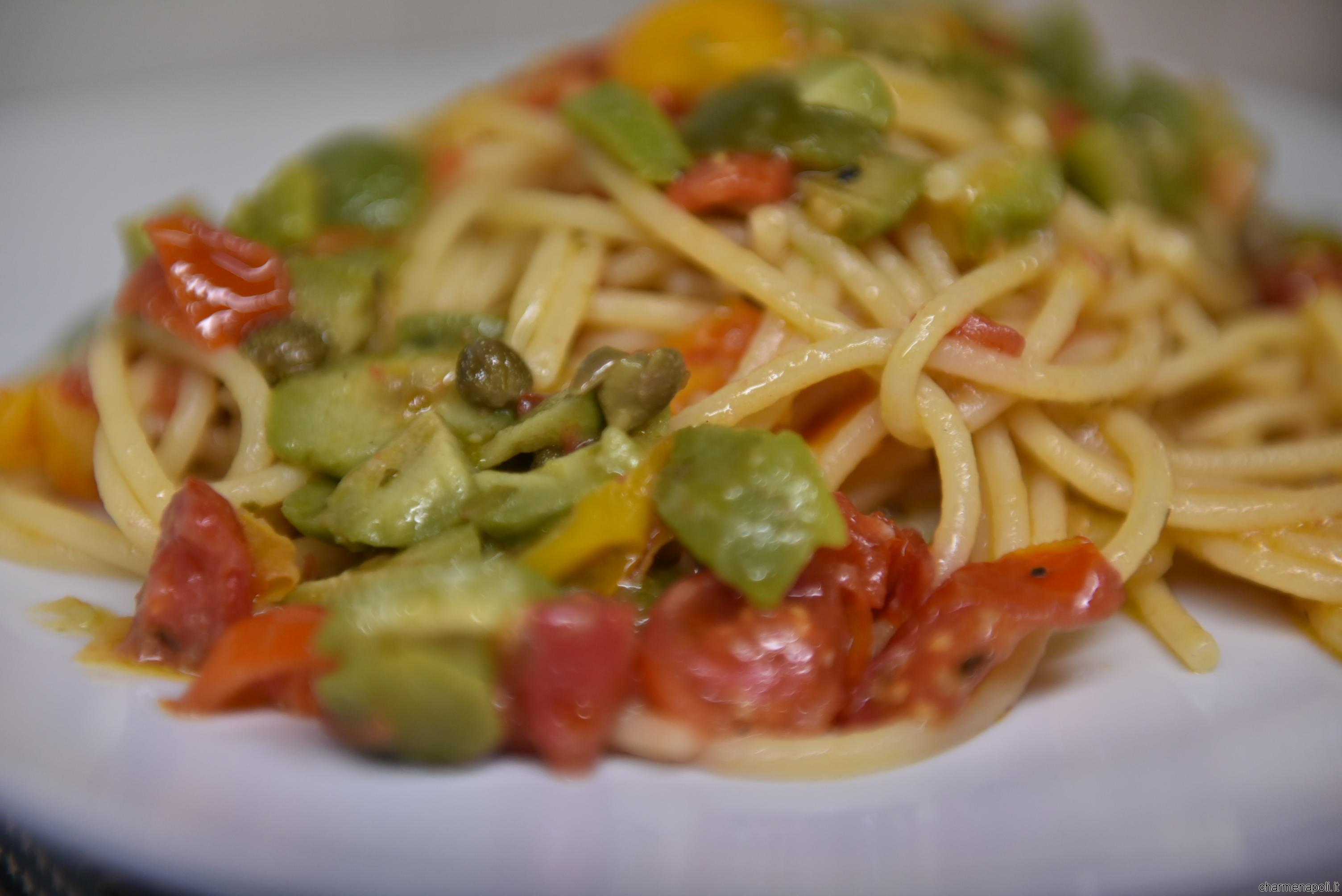 Spaghetti-alla Vesuviana
