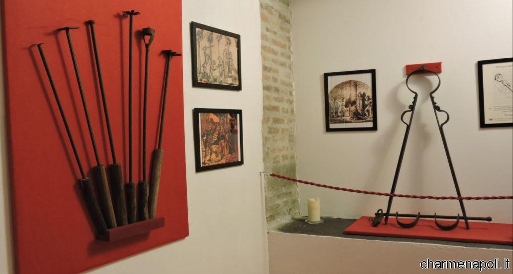 museo delle torture annullo filatelico