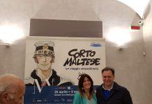 Patrizia Zanotti e Paolo Giulierini al MANN - ph. Elisabetta Pagliarulo